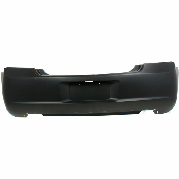 2006-2008 Dodge Charger W/Valence Hole Rear Bumper Painted to Match