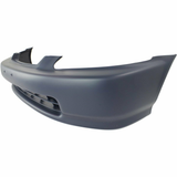 1996-1998 Honda Civic Coupe Front Bumper Painted to Match