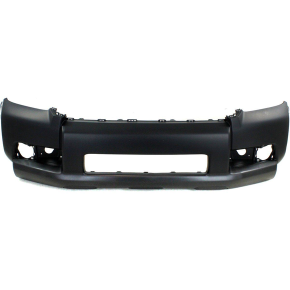 2010-2013 TOYOTA 4RUNNER Front Bumper Cover SR5  w/o Chrome Trim  w/o Trail Pkg  To 1-10 Painted to Match