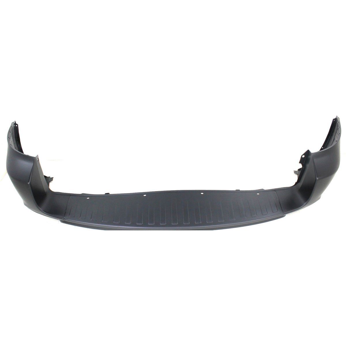 2009-2012 TOYOTA RAV4 Rear Bumper Cover w/o Wheel Opening Flares  w/Gate Mtd Spare Painted to Match