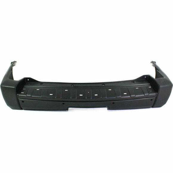 2006-2008 Jeep Commander w/Tow w/Snsr holes Rear Bumper Painted to Match