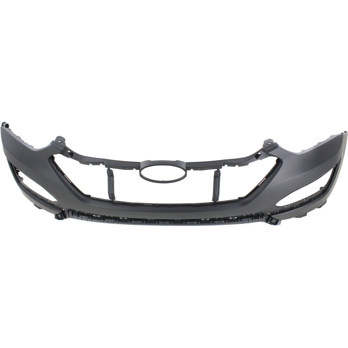 2013-2016 HYUNDAI SANTA FE Front Bumper Cover Upper SPORT  w/o Parking Assist Painted to Match
