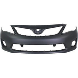 2011-2013 TOYOTA COROLLA Front Bumper Cover S|XRS Painted to Match