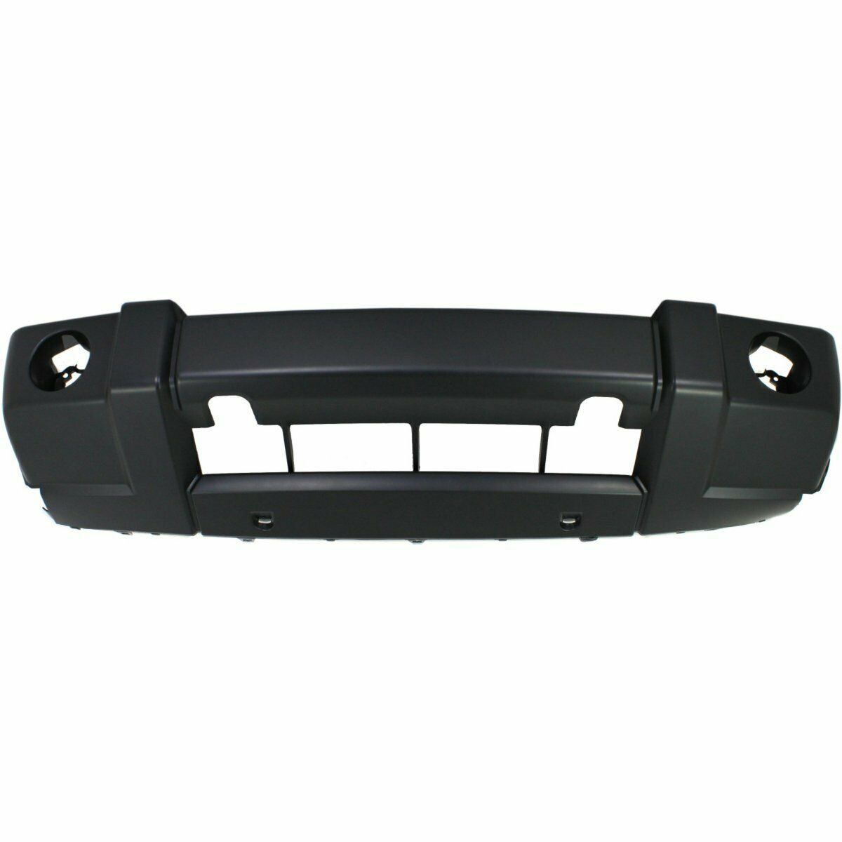 2009-2010 Jeep Commander w/oChrome Front Bumper Painted to Match