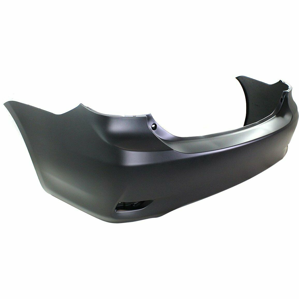 2011-2013 Toyota Corolla Rear Bumper Painted to Match