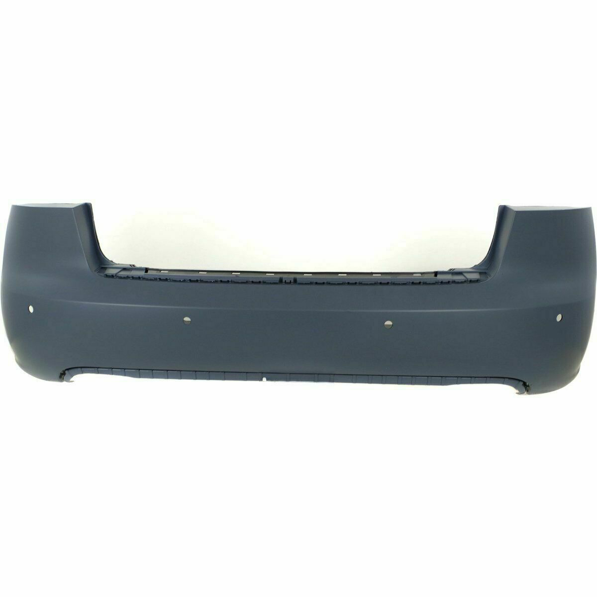 2005-2008 AUDI A4, Rear bumper W/ Sensor hole AU1100163 Painted to Match