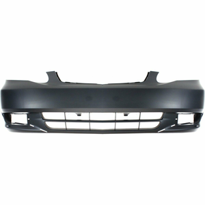 2003-2004 Toyota Corolla S Front Bumper Painted to Match