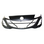 Load image into Gallery viewer, 2010-2011 MAZDA 3 Front Bumper Cover 2.5L Painted to Match