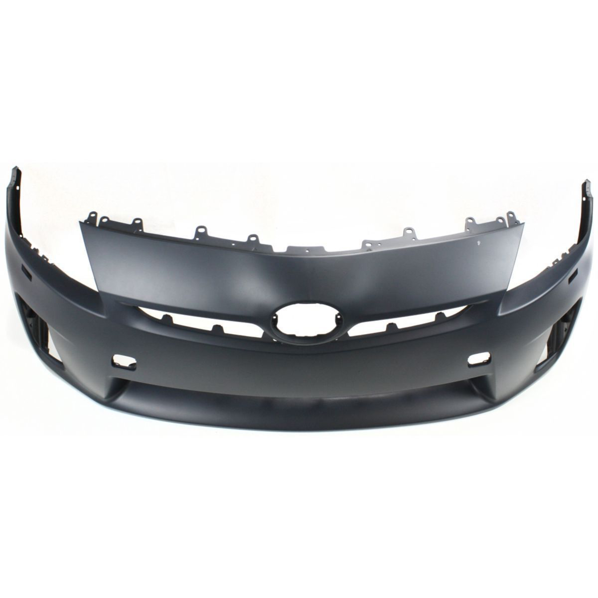 2010-2011 TOYOTA PRIUS Front Bumper Cover LED H/Lamps  w/o Pre-Collision System Painted to Match