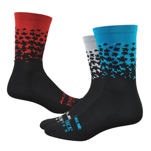 "Maple LOTW 6"" Race Sock - Patriot"