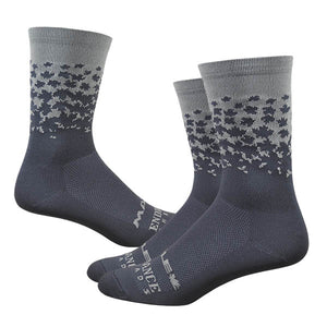 "Maple LOTW 6"" Race Sock - Cool Gray"