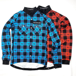 Maple Check Thermal LS Jersey