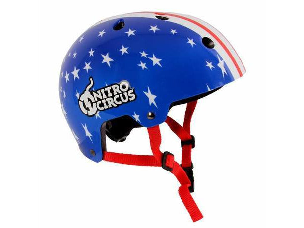 Stars & Stripes Kids Bike and Skate Helmet - Nitro Circus H1