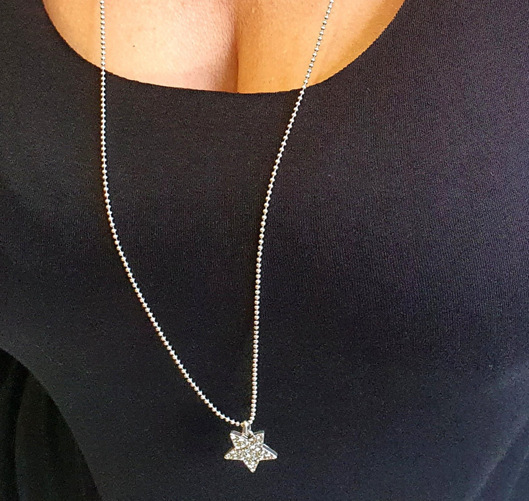 Star with Crystal Detail