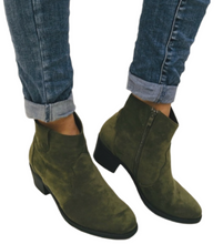 Load image into Gallery viewer, Khaki Ankle Boot