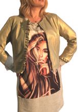 Load image into Gallery viewer, Faux leather frill jacket 2 colours