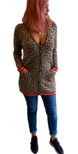 Load image into Gallery viewer, Leopard Cardi
