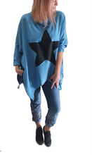 Load image into Gallery viewer, Star Zip Sweatshirt
