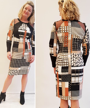 Load image into Gallery viewer, Stretch midi dress