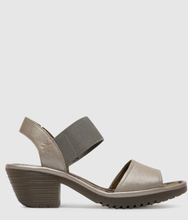 Load image into Gallery viewer, Leather fly london sandal