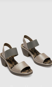 Leather fly london sandal