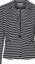 Load image into Gallery viewer, Striped  jacket
