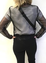 Load image into Gallery viewer, Jacket Organza Black