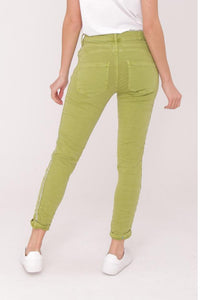 High Rise Stretch Jeans 5 Colours