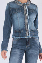 Load image into Gallery viewer, Denim Stretchy  jacket