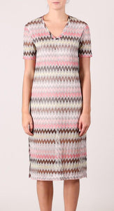 Missoniesque dress.