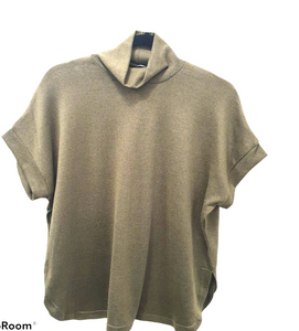 Khaki Polo Neck