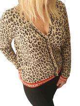 Load image into Gallery viewer, Short Leopard Cardi
