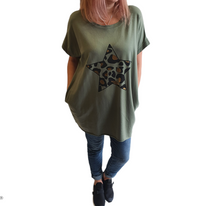 Load image into Gallery viewer, Oversized Tunic T-Shirt