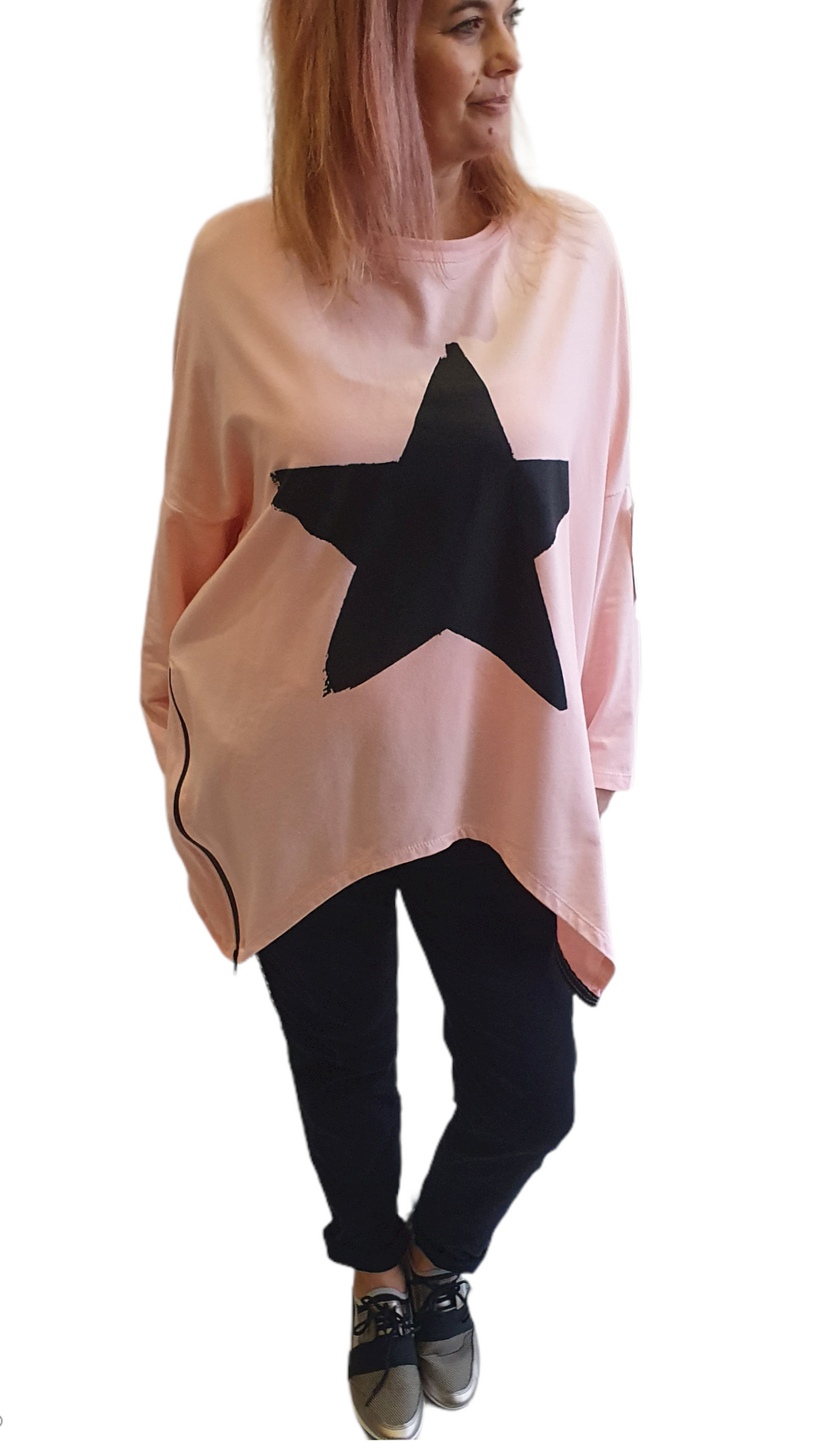 Star Zip Sweatshirt