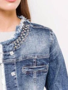 Denim Stretchy  jacket