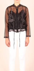 Jacket Organza Black