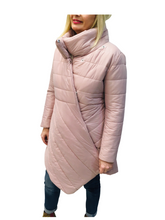 Load image into Gallery viewer, Pale Pink Puffer Coat