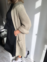Load image into Gallery viewer, Chunky Khaki Cardigan