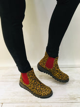 Load image into Gallery viewer, Leopard Ankle boots