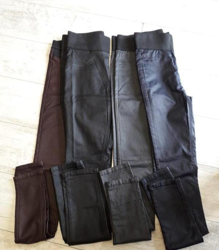 Leatherette Pants