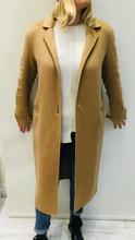 Load image into Gallery viewer, Camel Wool Coat