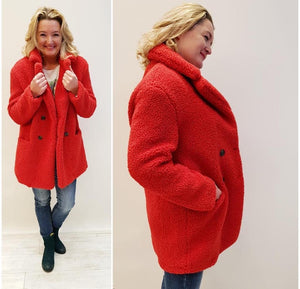 Snuggly Teddy 3/4 Coat