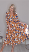 Load image into Gallery viewer, Vintage Chiffon dress