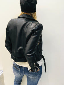 Vegan leather Biker
