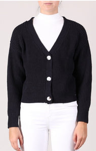 Cotton short cardigan 3 colours
