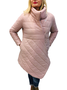 Pale Pink Puffer Coat