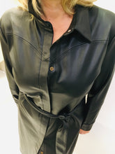 Load image into Gallery viewer, Vegan leatherette Dress