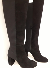 Load image into Gallery viewer, Classic Italian Stretch long leather boots
