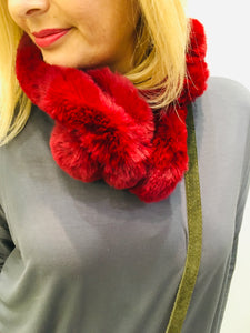 Scarves fluffy 4 colours