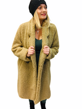 Load image into Gallery viewer, Maxi Teddy Coat
